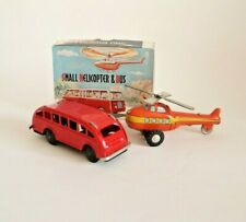 Vintage small Helicopter & Bus made in Red China NOS