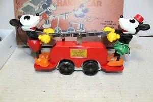 No 1100 Mickey Mouse Pride Lines Reproduction of Lionel Disney's Pre-War Handcar