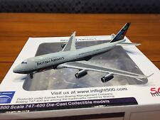 British Airways Landor Boeing 747-400 G-CIVB Aircraft Model 1:500 Inflight 500