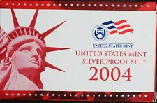 2004 SILVER United States Mint Proof Set