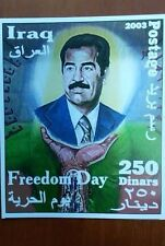 block Iraq Freedom Day Saddam Hussein 2003
