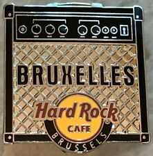 "Hard Rock Cafe BRUSSELS 2014 ""Bruxelles"" on AMPLIFIER PIN - LE 250! HRC #70750"