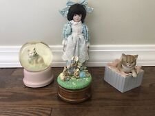 Lot of 4 Spring Music Boxes
