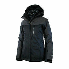 Columbia Womens Superpipe 3in1 interchange Omni Heat Down Jacket Black XS NWT