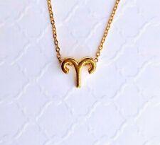 Aries Pendant | Aries Zodiac Necklace | Zodiac Gold Chain | Celestial Jewelry