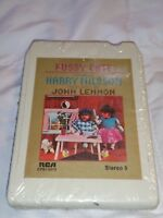 Pussy Cats Starring Harry Nilsson 8 Track Produced By John Lennon Sealed