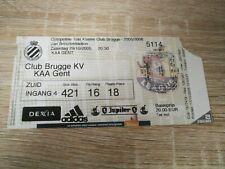 Ticket : Club Brugge KV - KAA Gent 29.10.2005