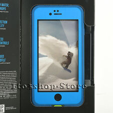 LifeProof FRE Water Dust Proof Hard Cover Case iPhone 6 iPhone 6s Blue/Lime Used