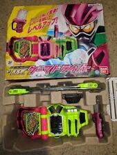 Kamen Rider Ex-Aid DX Gamer Driver Henshin Belt Toy Used 2019