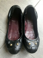 Ballerine gatto nere MARC JACOBS black cat ballet flats EU 36,5 UK 3,5