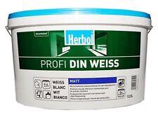 (?2,38*/L) 12,5 L Herbol Profi DIN WEISS innen matt Wandfarbe #CLICK & COLLECT#
