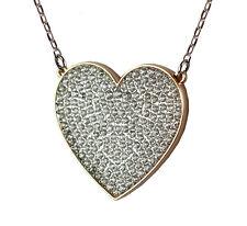 SWAROVSKI Halskette Even Pendant 5198940 Metallmix Rotgold Silber Herz Kristalle