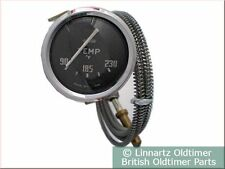 Wasser-Temperaturanzeige, Fahrenheit, Triumph TR2 - TR3B