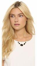 kate spade ONYX BLACK quarry gems park & lex ROW gemstone necklace