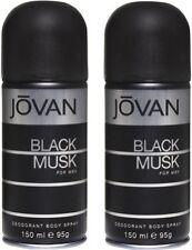 Jovan Black Musk and Black Musk Combo Set(Set of 2)