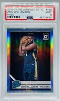 2019 Donruss Optic Holo Zion Williamson #158 Rookie Card PSA 9