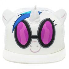awesome my little pony dj pon-3 big face styled trucker snapback cap * neu *