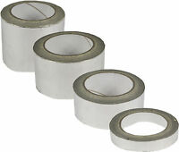 Extra Strong Aluminium Self Adhesive Silver Foil Insulation Tapes Exhaust Pipe