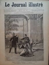 """LE JOURNAL ILLUSTRE 1885 N 4  AU THEATRE DE LA COMEDIE FRANCAISE """" DENISE"""""""