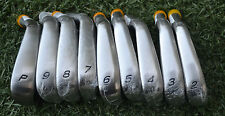 NEW Rare TaylorMade R9 TP IRONS 2-PW TOUR ISSUE SATIN HEADS Cavity backs