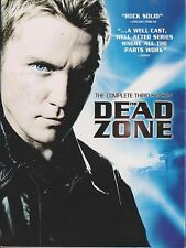 THE DEAD ZONE - Series 3. Anthony Michael Hall, Nicole de Boer (3xDVD BOX SET)
