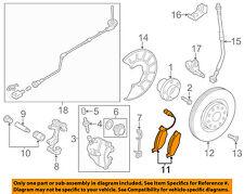 VW VOLKSWAGEN OEM 11-17 Jetta Brake-Front Pads 5C0698151A