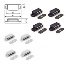 More details for magnetic door latch for kitchen cabinet cupboard wardrobe catches packs