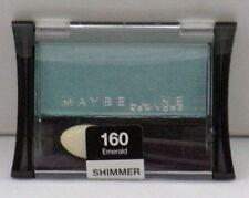 Lot of 3 Maybelline Expert Wear Eyeshadow - Emerald #160