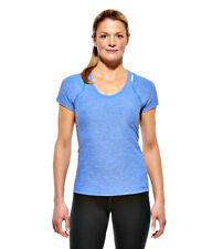 Reebok RF Optimal Womens Blue Tee T Shirt Fitness Gym Top Size: Medium