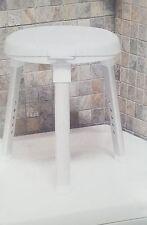 Dusch- Badehocker, drehbar ergonomische Duschhocker Höhenverstellbar duschstuhl