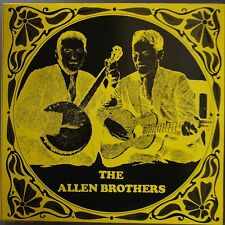 ALLEN BROTHERS: Scarce Banjo BLUEGRASS guitar VINYL LP NM-