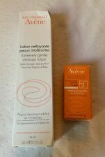 Avene Extremely Gentle Cleanser Lotion 6.7oz & Hydrating Sunscreen Balm Spf 50