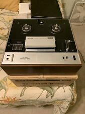 Vintage Sony TC-355 4-Track Stereophonic Reel To Reel Record Player Excellent