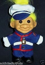 "Marine Russ Troll Doll 5"" New in Bag Military"
