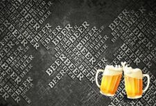 8x6Ft Beer Party Photography Background Backdrops Studio Props Vinyl