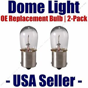 Dome Light Bulb 2-Pack OE Replacement - Fits Listed Ford Vehicles - 1003