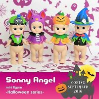 2016 Dreams Sonny Angel Mini Figure Halloween Series Full set of 4 pieces