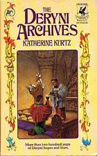 Katherine Kurtz THE DERYNI ARCHIVES Signed First Printing