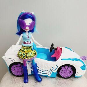 MLP - EQUESTRIA GIRLS -  DJ Pon 3 Doll & Rockin Convertible Car Playset