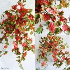 Ahorn 40 cm künstliches Efeu Ranke Busch Deko Herbst Laub Blätter Kunstpflanzen