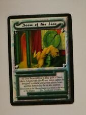 Legend of the Five Rings - L5R - Doom of the Lion