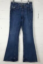 Vanity Premium Collection Jeans Womens Size 26 x 33  Distressed Blue Denim Pants