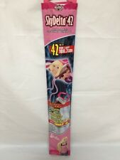 "Barbie SkyDelta 42"" Poly Delta Kite Includes Sky Tails Fiverglass Airframe NIP"