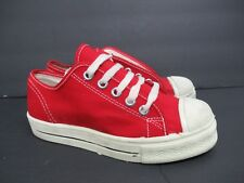 Vintage Retro Converse in Red Canvas 60s/70s Kids' Size: 1.5 #2