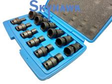 "12PC 3/8"" Dr Impact Universal Wrench Universal Swivel Sockets Tool Set Kit SAE"