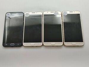 Lot of 4 Parts & Repair Samsung Galaxy J7 J727T T-Mobile Check IMEI LR-321