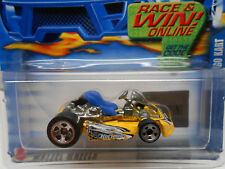Hot Wheels (2002) Go Kart #198 Yellow
