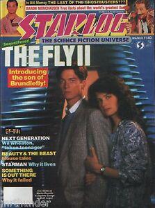 Starlog Issue 140 The Fly II Next Gen Beauty & Beast Starman Ghostbusters