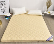 Comfortable Soft Home Foldable Bedding King Size Bed Mattress 2X2.2M Camel