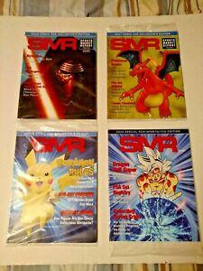 Lot of 4 PSA SMR Magazines 2016 2017 2018 2020 Comic Con Dragon Ball Star Wars